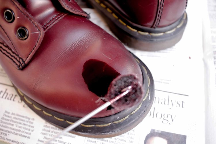 HOW TO DYE LEATHER BOOTS   STREET MADONNA
