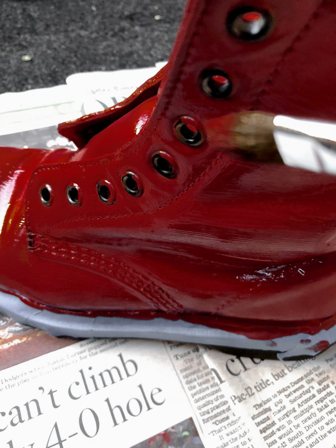 Popular HOW TO PAINT LEATHER BOOTS | STREET MADONNA HG85